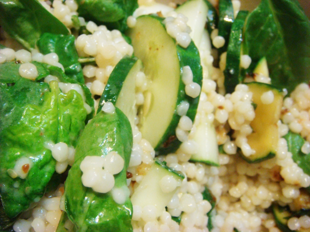 Garlic Veggie Couscous