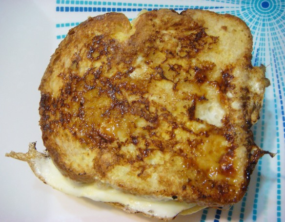 Grilled Banana Sandwich