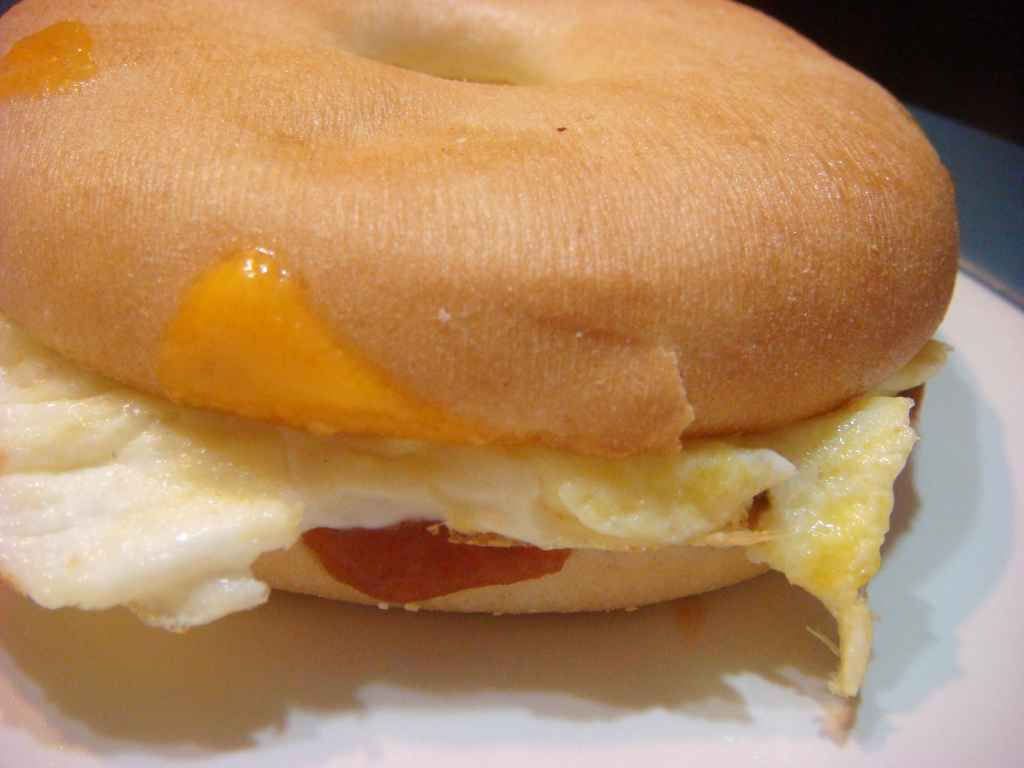 Apple Cheddar Egg Sandwich