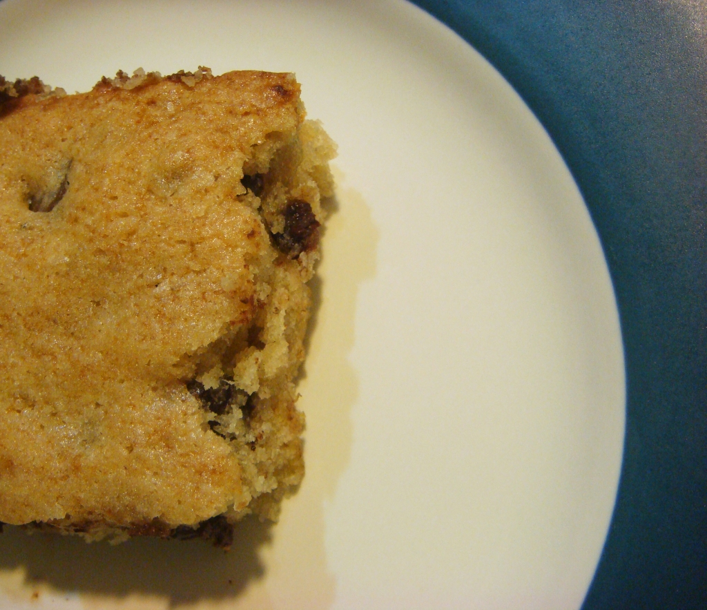 Banana Chocolate Chip Bar