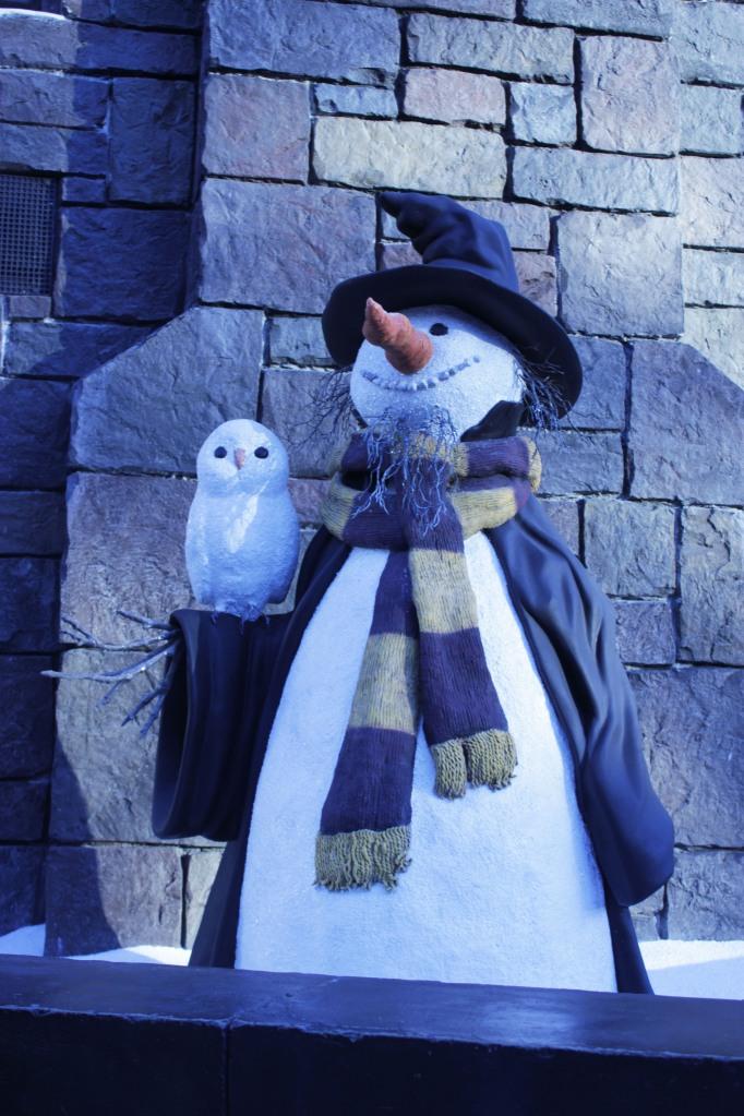 Harry Potter Snowman