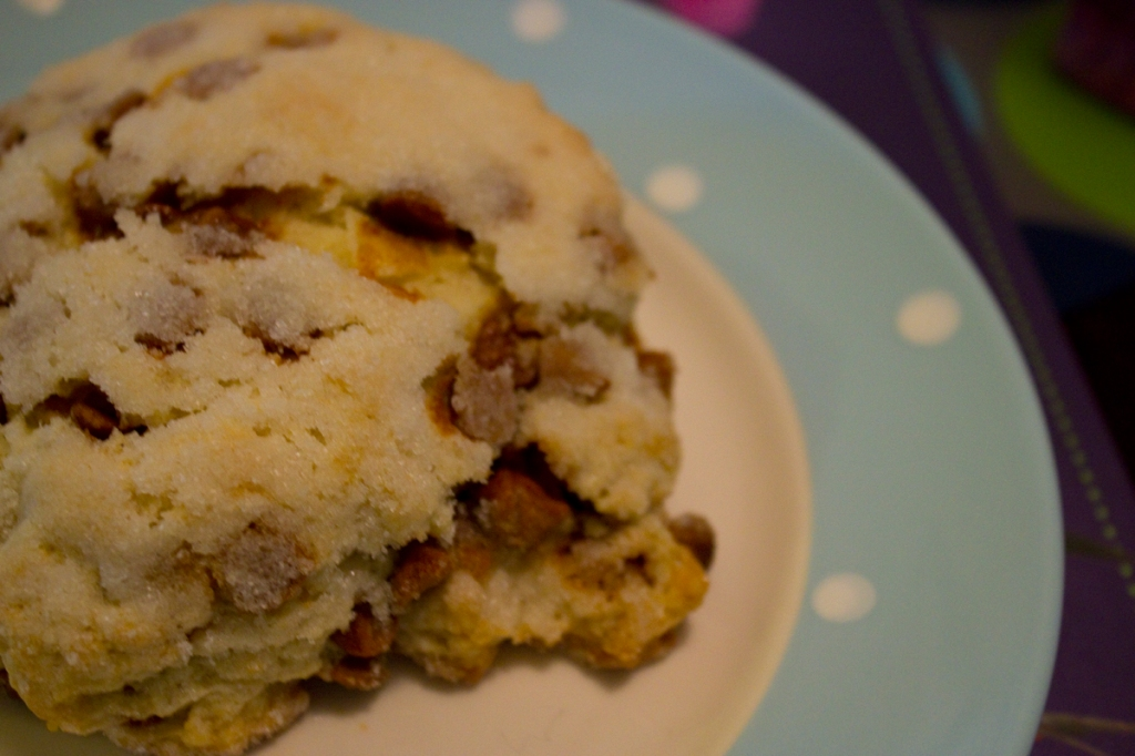 Cinnamon Sugar Scone