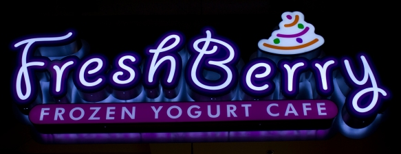 Freshberry Sign