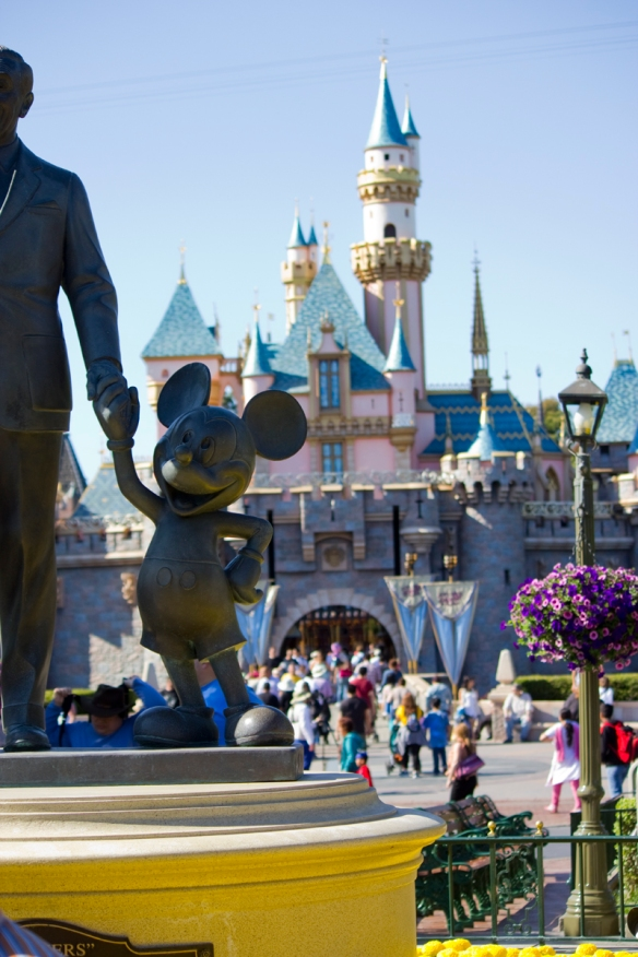 Mickey and Castle