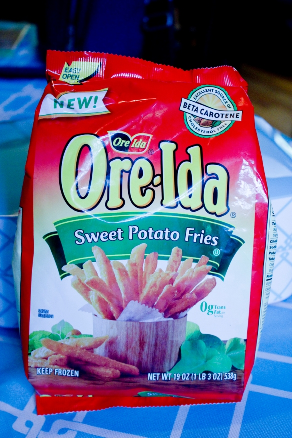Sweet Potato Fries Bag