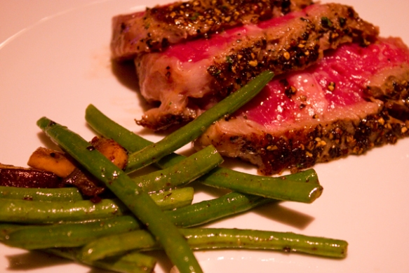 Flemings Peppercorn Steak